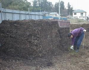 堆肥づくり